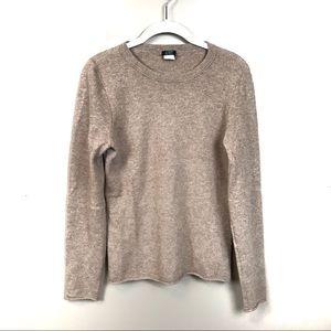 Jcrew brown 100% cashmere sweater